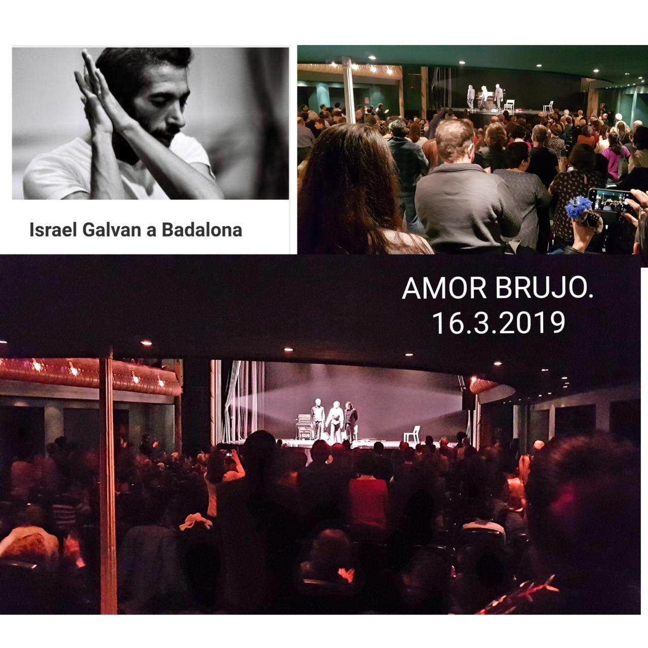 Israel Galvan a Badalona Marzo 2019 aplausos