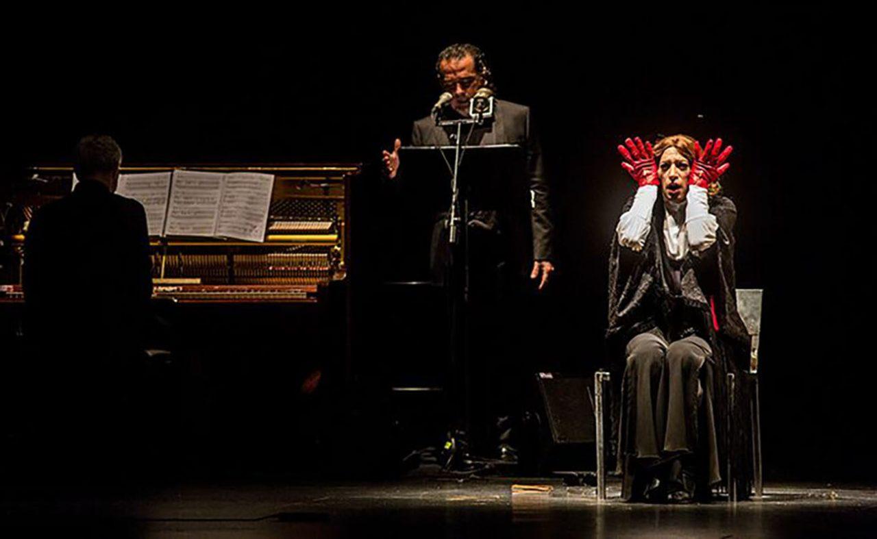 AMOR BRUJO de Israel Galván con David Lagos al cante y Alejandro Rojas-Marcos al piano con música de Manuel de Falla. QUINZENA METROPOLITANA DA LA DANSA. Teatre Zorrilla Badalona. 16 de Març del 2019