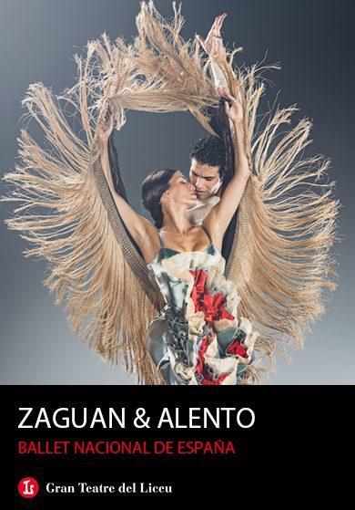 Un grupo de 11 disfrutamos del BNE ALENTO & ZAGUAN y su elegancia, belleza, virtuosismo y castañuelas. Hasta el 3 de Agosto en elLiceu